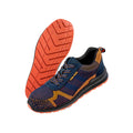 Black-Orange - Back - Result Work-Guard Unisex Adults Workguard Safety Trainer