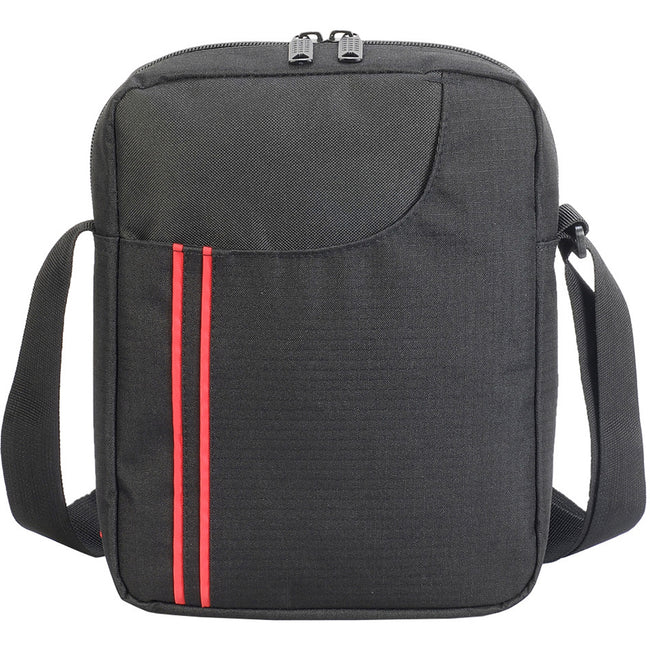 Black-Red - Back - Shugon Rennes Cross Body Pouch