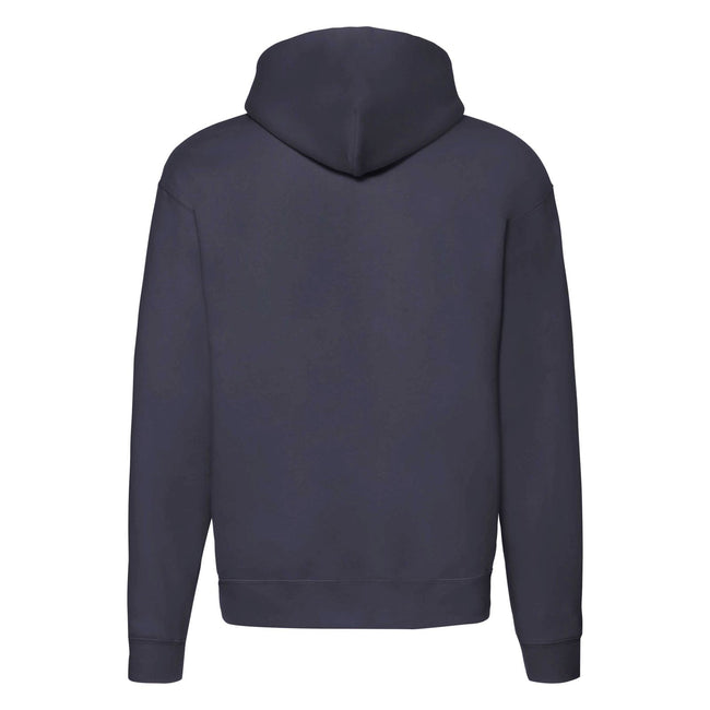 Navy Heather - Back - Fruit of the Loom Mens R Hoodie