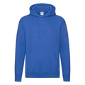 Royal Blue Heather - Front - Fruit of the Loom Mens R Hoodie