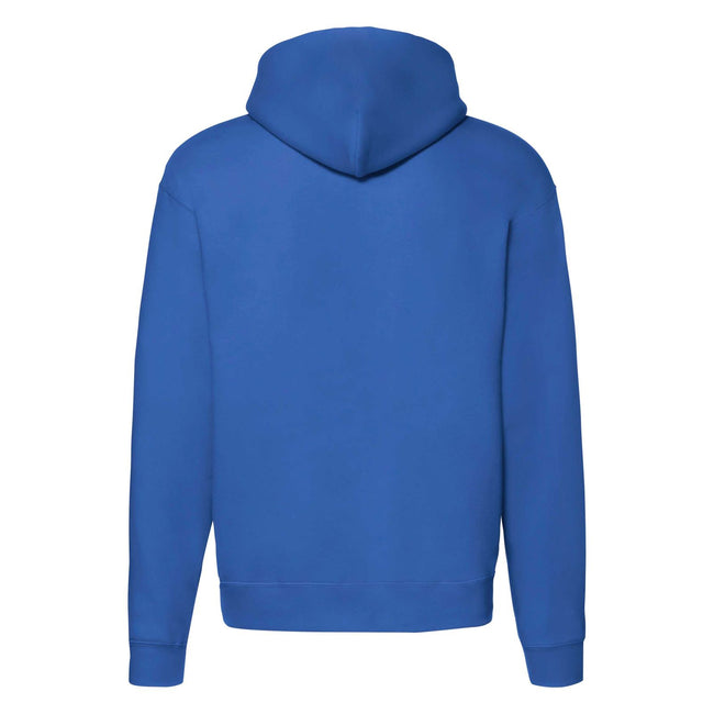 Royal Blue Heather - Side - Fruit of the Loom Mens R Hoodie