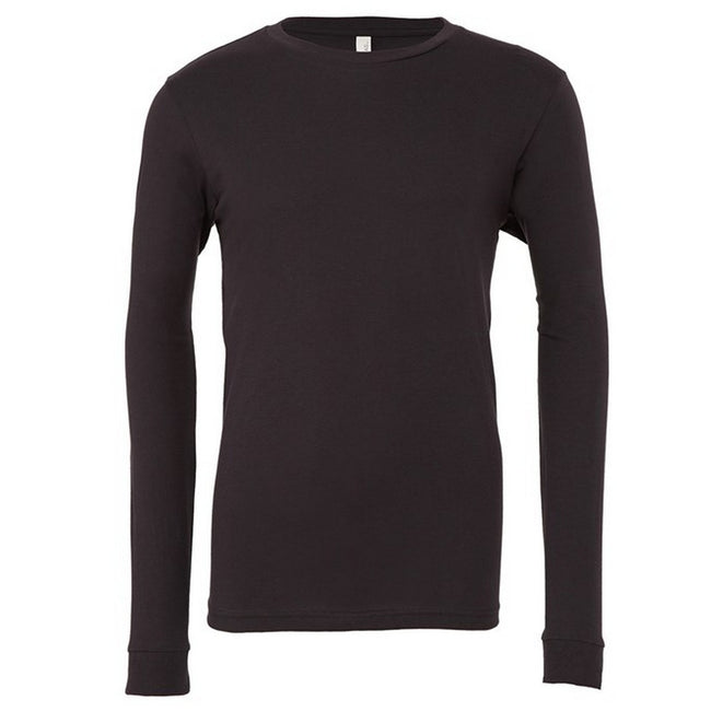Military Green - Front - Bella + Canvas Unisex Adult Jersey Long-Sleeved T-Shirt