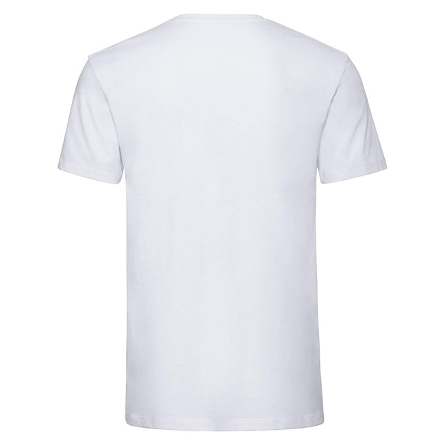 Black - Back - Russell Mens Pure Organic Short-Sleeved T-Shirt