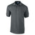 Charcoal - Front - Gildan Mens Ultra Cotton Pique Polo Shirt