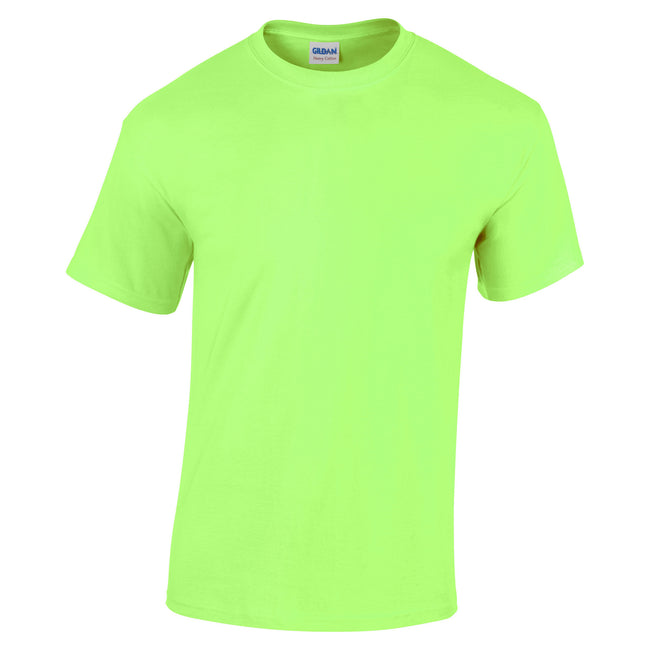 Mint Green - Front - Gildan Youth Unisex Heavy Cotton T-Shirt