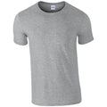 Sport Grey (RS) - Front - Gildan Mens Short Sleeve Soft-Style T-Shirt