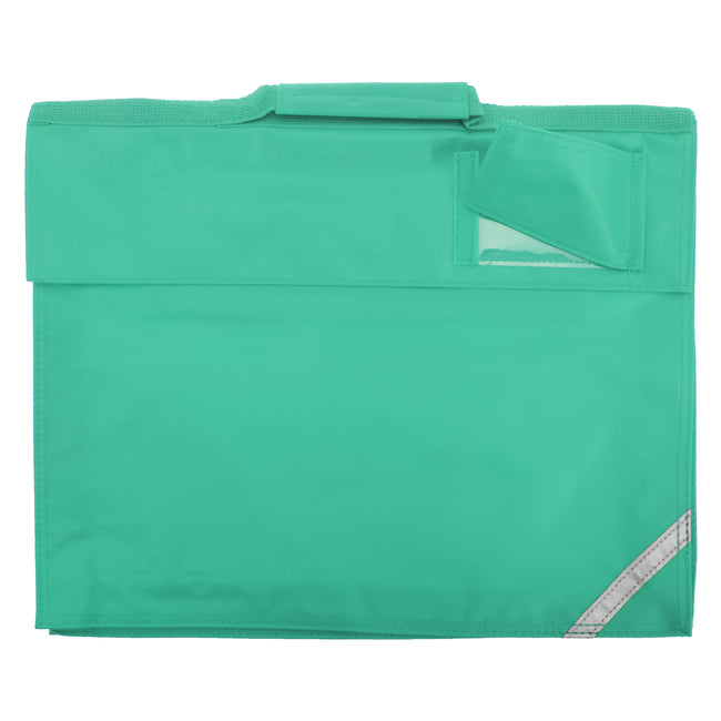 Emerald - Front - Quadra Junior Book Bag - 5 Litres