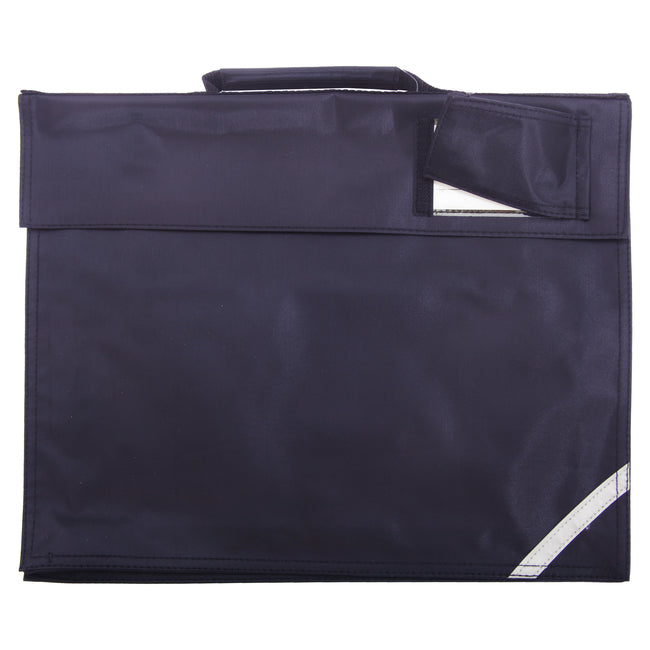 French Navy - Front - Quadra Junior Book Bag - 5 Litres