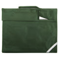 Bottle Green - Front - Quadra Junior Book Bag - 5 Litres