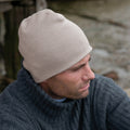Stone - Side - Result Pull On Soft Feel Acrylic Winter Hat