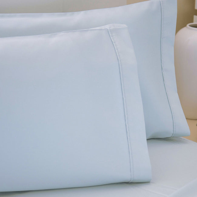 Mulberry - Front - Belledorm 200 Thread Count Egyptian Cotton Housewife Pillowcases (Pair)
