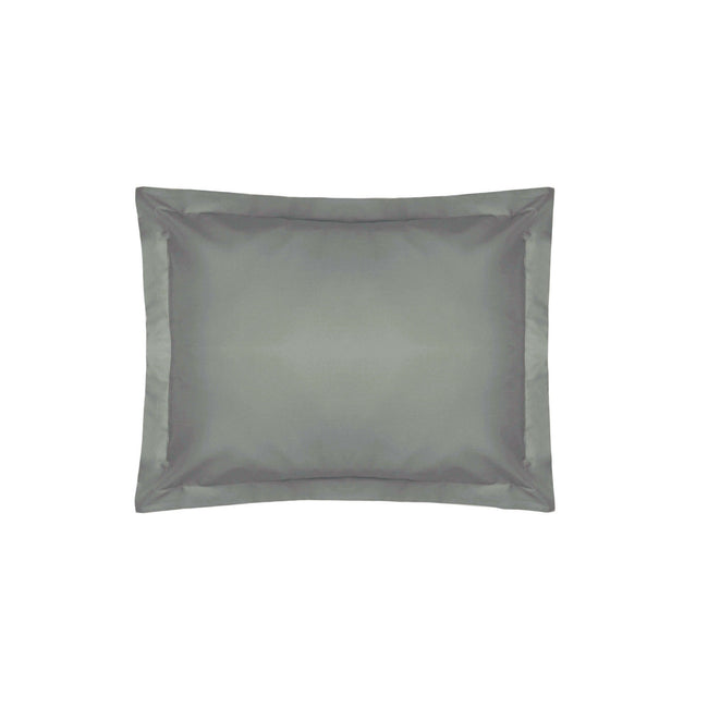 Slate - Front - Belledorm 200 Thread Count Egyptian Cotton Oxford Pillowcase