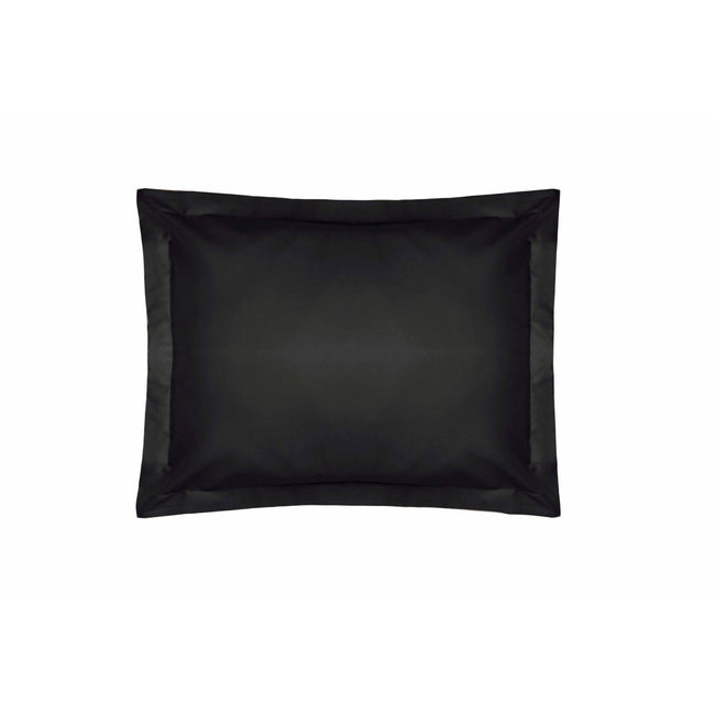 Black - Front - Belledorm 200 Thread Count Egyptian Cotton Oxford Pillowcase