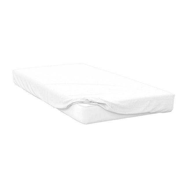 Ivory - Front - Belledorm 200 Thread Count Cotton Percale Ultra Deep Fitted Sheet