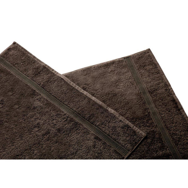 Slate - Front - Belledorm Hotel Madison Face Cloth