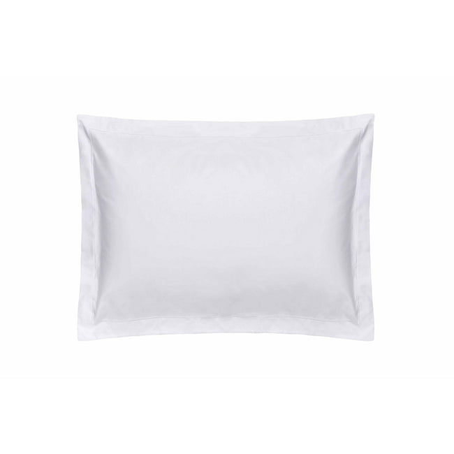 White - Front - Belledorm Premium Blend 500 Thread Count Oxford Pillowcase