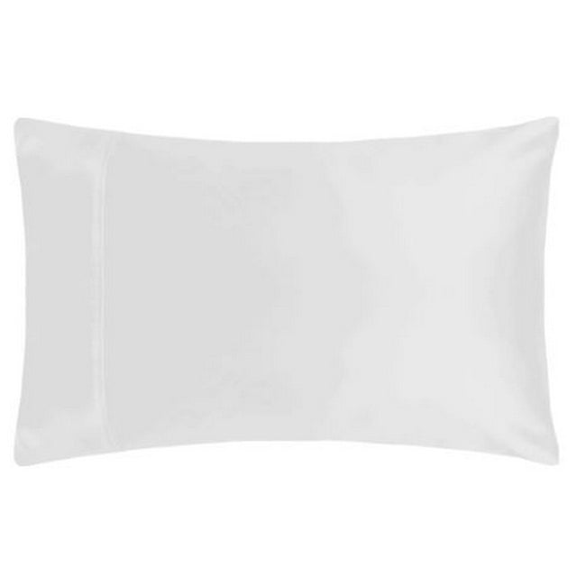 White - Front - Belledorm Premium Blend 500 Thread Count Housewife Pillowcase (Pair)
