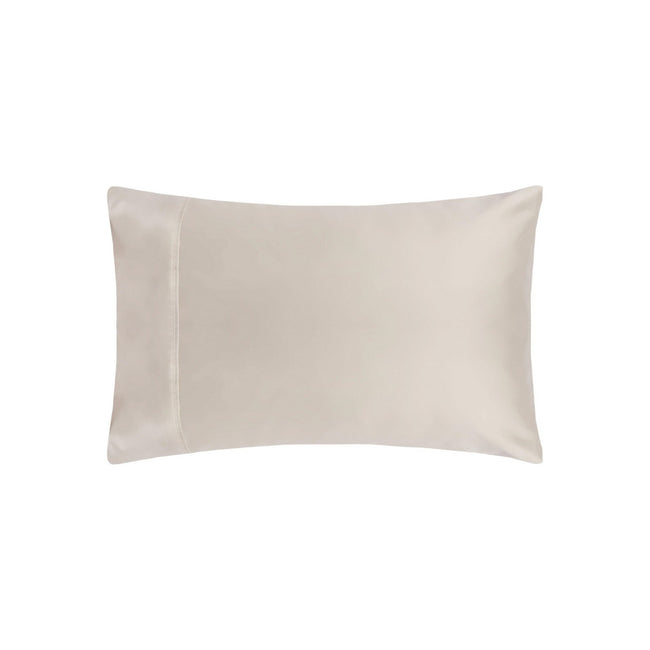 Oyster - Front - Belladorm Pima Cotton 450 Thread Count Housewife Pillowcase