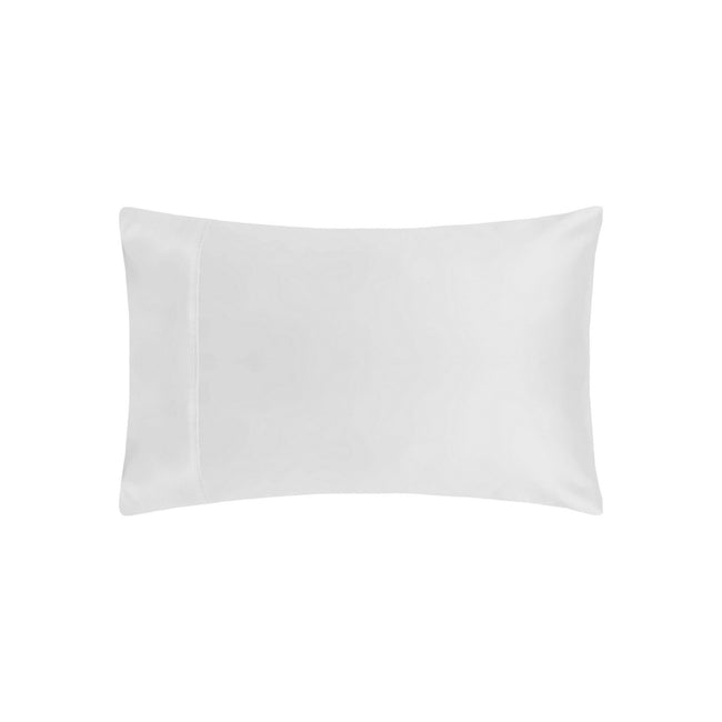White - Front - Belladorm Pima Cotton 450 Thread Count Housewife Pillowcase