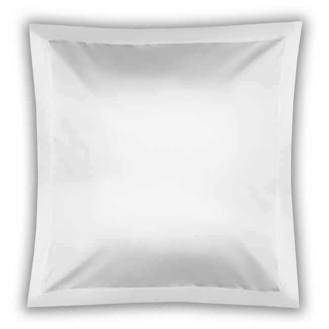 White - Front - Belledorm Pima Cotton 450 Thread Count Oxford Continental Pillowcase