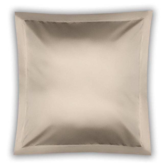 Oyster - Front - Belledorm Pima Cotton 450 Thread Count Oxford Continental Pillowcase