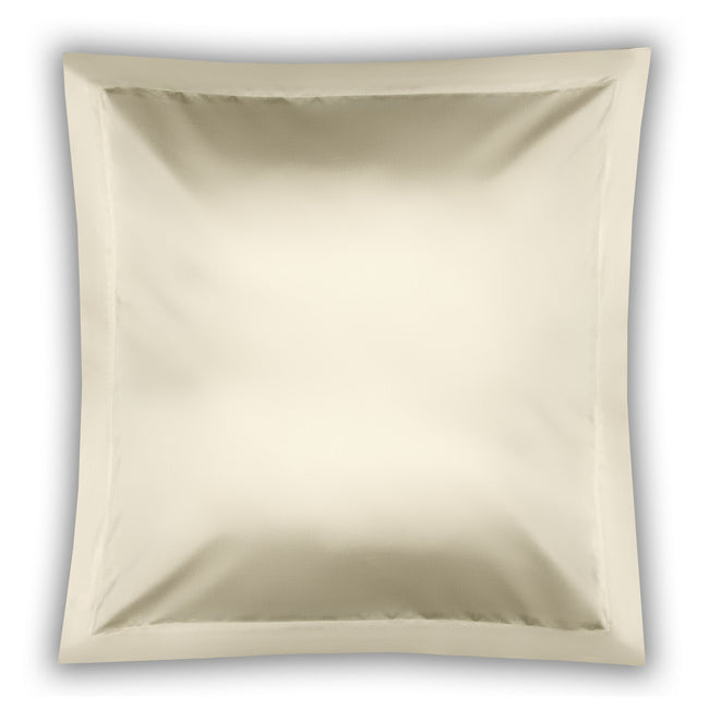 Ivory - Front - Belledorm Pima Cotton 450 Thread Count Oxford Continental Pillowcase