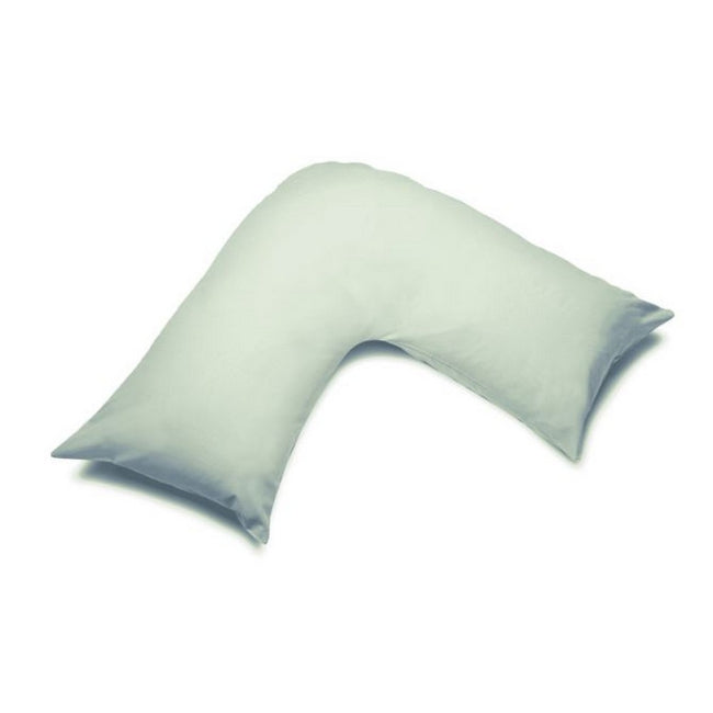 Apple - Front - Belledorm Easycare Percale V-Shaped Orthopaedic Pillowcase