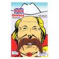 Brown - Back - Bristol Novelty Cowboy Tash