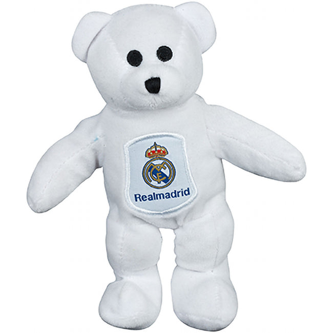 White - Back - Real Madrid Mini Plush Bear