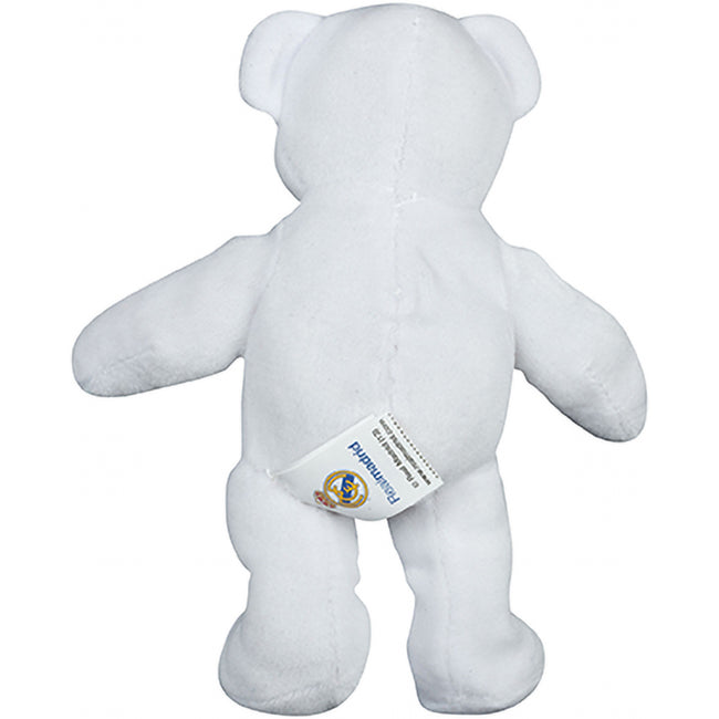 White - Pack Shot - Real Madrid Mini Plush Bear