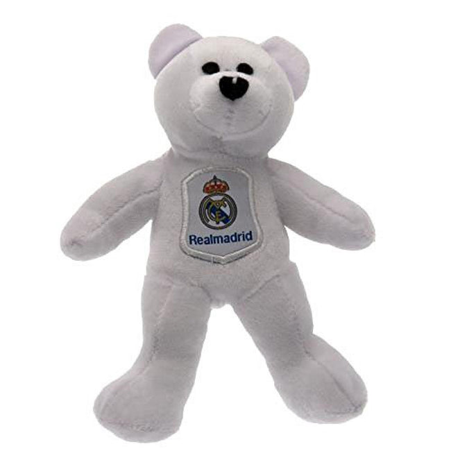 White - Front - Real Madrid Mini Plush Bear