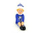 Blue-White - Front - Chelsea FC Official Football Christmas Team Elf
