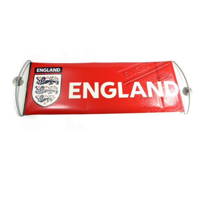 Red-Blue - Back - England Official Fanbana Football Banner