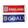 Red-Blue - Front - England Official Fanbana Football Banner