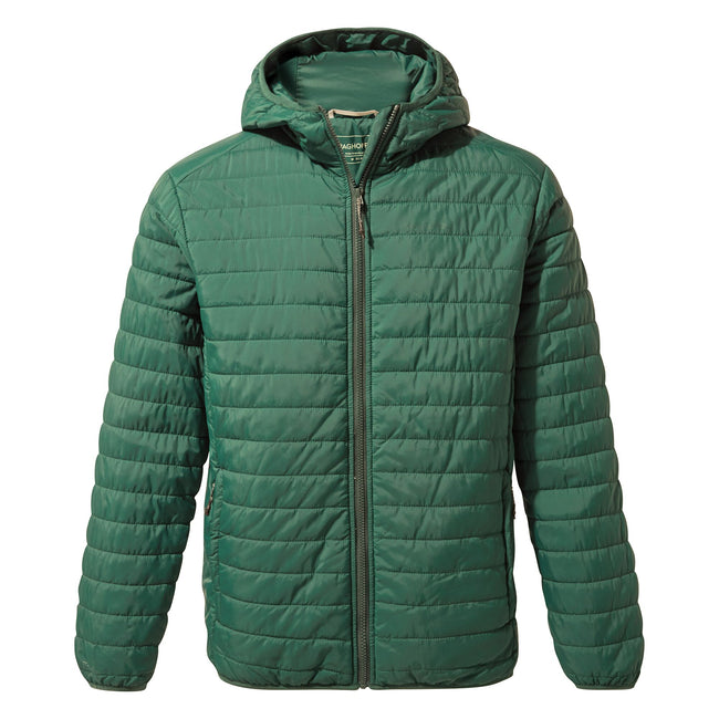 Mountain Green - Front - Craghoppers Mens CompressLite III Jacket