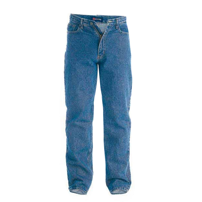 Stonewash - Front - Duke Mens Rockford Carlos Stretch Jeans