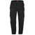 Black - Front - Duke Mens Robert-D555 Peached And Washed Cotton Cargo Trousers