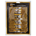 Chocolate-Gold - Front - Grafters Round 140cm Boot Laces (Pack Of 12)