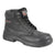 Black - Front - Grafter Mens Wide Fitting Lace Up Safety Boots