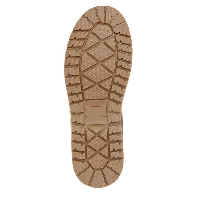 Dark Brown - Back - Route 21 Mens 6 Eyelet Ankle Boot