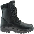 Black - Back - Grafters Mens Top Gun Thinsulate Lined Combat Boots