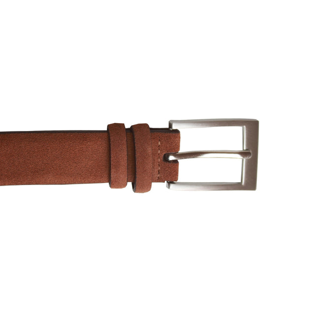 Tan - Front - Eastern Counties Leather Womens-Ladies Suede Belt