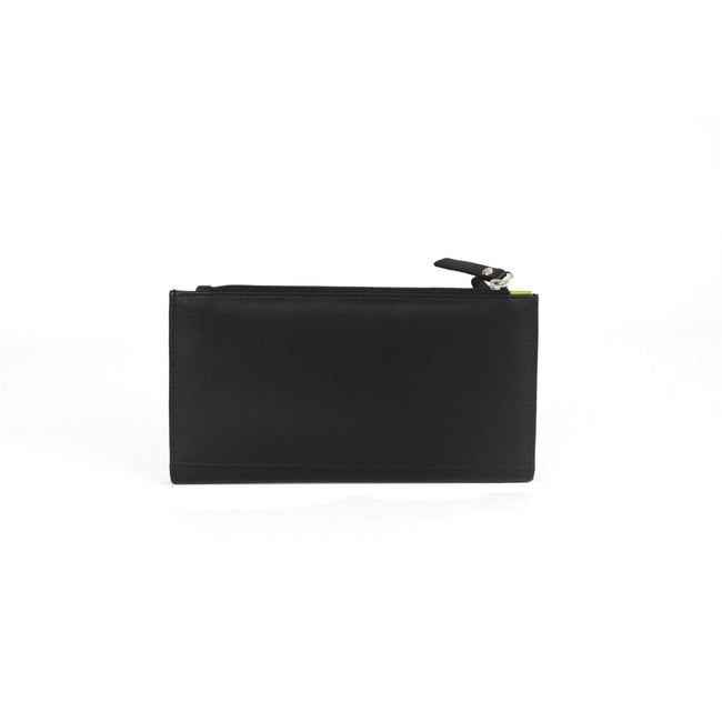 Black-Daquiri - Lifestyle - Eastern Counties Leather Womens-Ladies Karlie Contrast Panel Purse