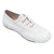 White - Front - Mirak 204-ASG14 Unisex Childrens Lace-Up Plimsolls - Boys-Girls Gym Trainers