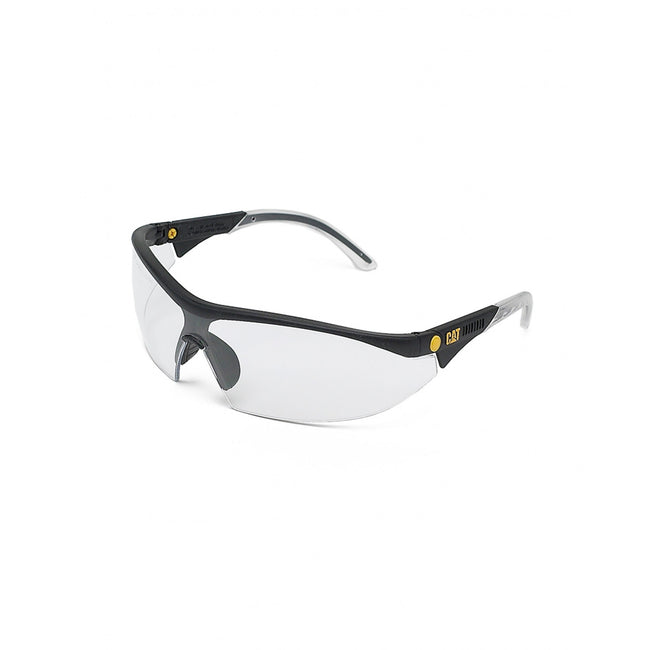 Clear - Front - Caterpillar Semi-Rimless Glasses - Workwear Acc - Eyewear