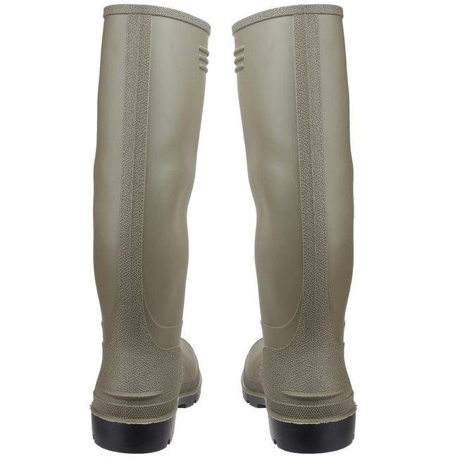 Green - Lifestyle - Dunlop Pricemastor PVC Welly - Womens Boots