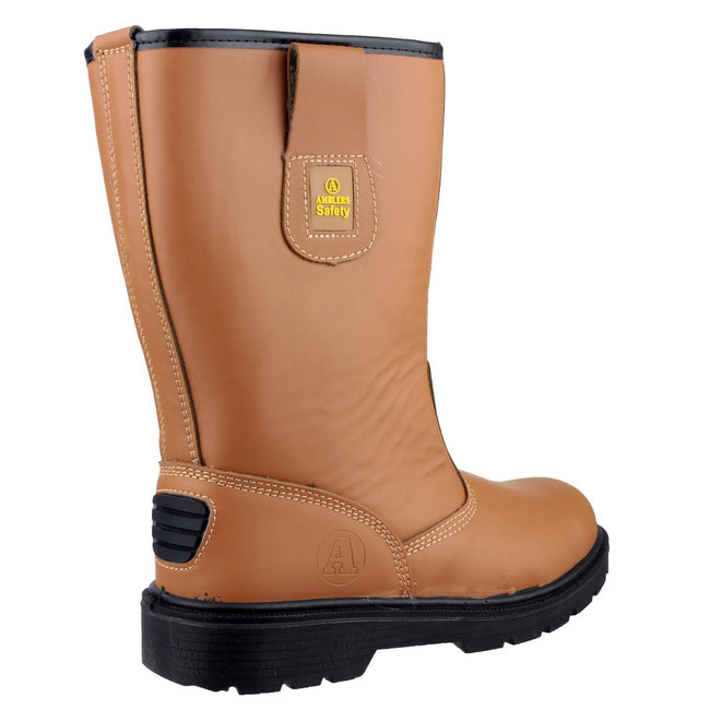 Tan - Lifestyle - Amblers Safety FS124 Safety Rigger Boot - Mens Boots