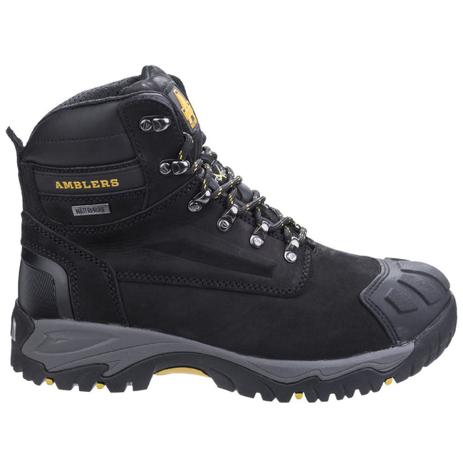 Black - Side - Amblers Safety FS987 Safety Boot - Mens Boots