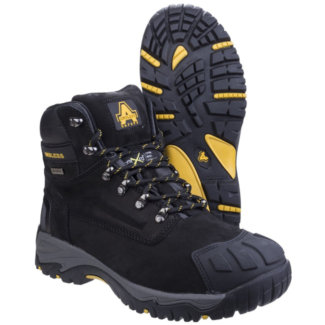 Black - Pack Shot - Amblers Safety FS987 Safety Boot - Mens Boots