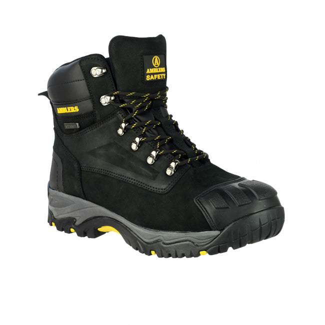 Black - Front - Amblers Safety FS987 Safety Boot - Mens Boots